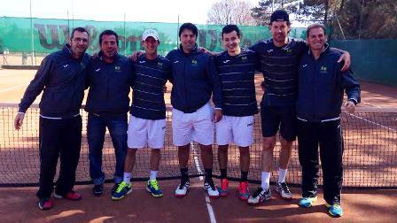 Els membres i tècnis de l'equip