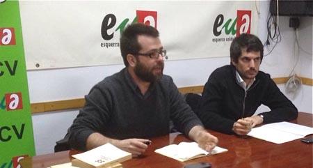 Oriol Costa i Ernest Urtasun