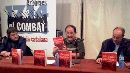 Imatge de la presentació del llibre / Foto: Ajuntament d'Arbúcies
