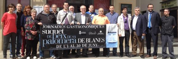 Representants dels establiments que participen en la promició