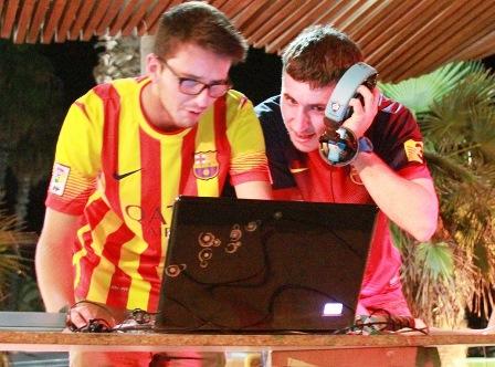 Els membres de Lapao Sound System / Foto: Quim Llorens