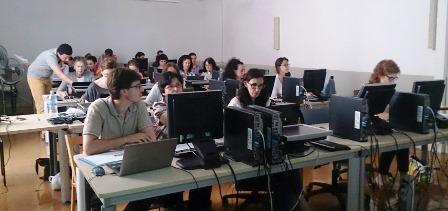 Sesió formativa de lespersones que actualitzaran els webs