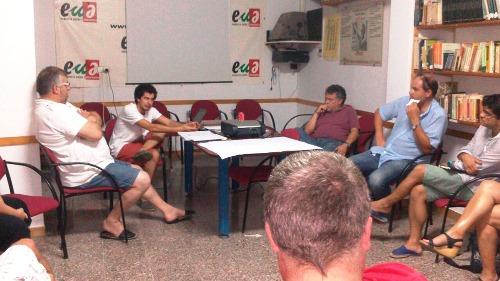 Imatge de la reunió / Foto: EUiA-ICV