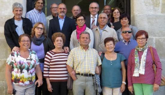 Membres de la Casa d'Ardales, Càritas i de l'equip de govern / Cedida