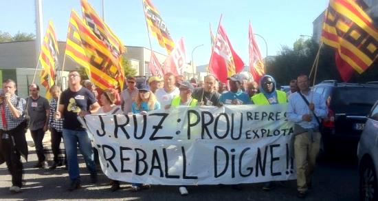 Foto: CCOO Comarques Gironines