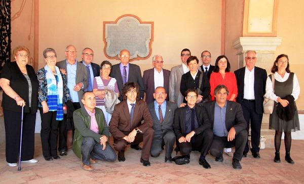 Membres de l'Obreria del Vilar i regidors de l'Ajuntament de Blanes / Joaqjuim Llorens