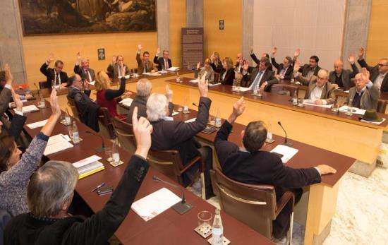 Aprovació del pressupost per unanimitat / Martí Artalejo