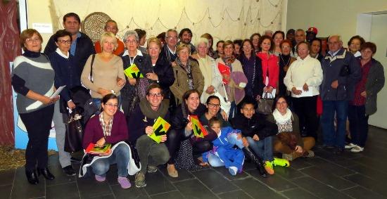 Foto de grup delsparticipants en l'experiència