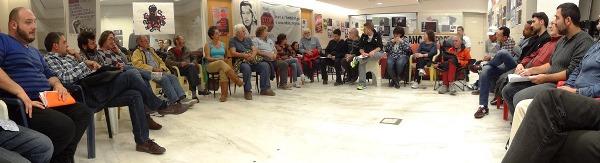 Asamblea de miembros de Podemos Blanes
