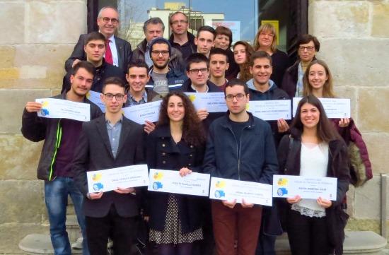 Foto de grup dels premiats