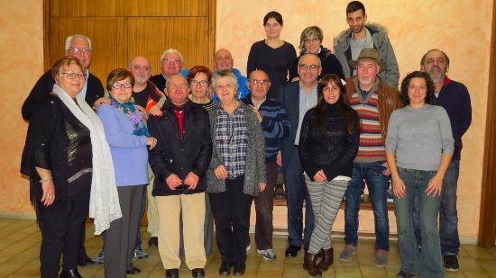 L'equip de Ràdio Blanes, amb l'alcalde Josep Marigó i la regidora Lara Torres / Ajuntament de Blanes