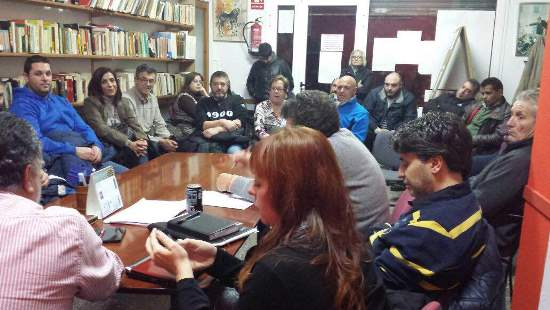 Es va demanar més presència de Mossos d'Esquadra als barris afectats