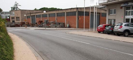 Un dels trams que s'urbanitzarà / Ajuntament de Caldes de Malavella