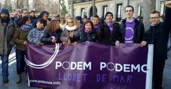 Foto: Podemos de Lloret de Mar