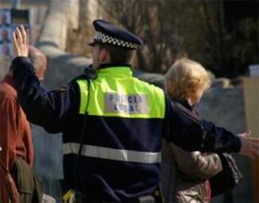 Un agent de la Policia Local de Tordera