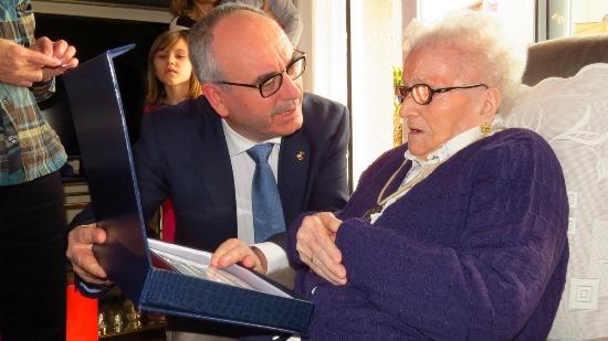 L'alcalde Josep Marigó i