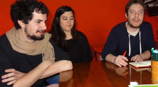 Víctor Catalan, Yessica Terrón y Eloi Espósito / JFG