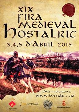Cartell de la XIX Fira Mediaval d'Hostalric