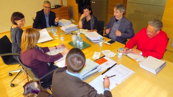 Deliberació del jurat / Ajuntament de Blanes