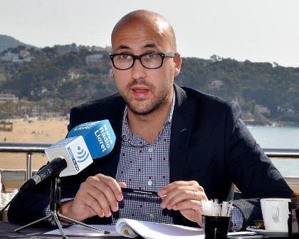 Jaume Dulsat, avui durant la presentació del programa