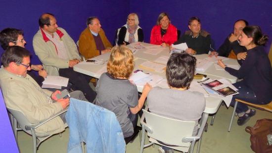 Reunió del Comissió de Focs / Ajuntament de Blanes