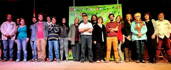 Els candidats de llista d'ICV-EUiA-Pirates