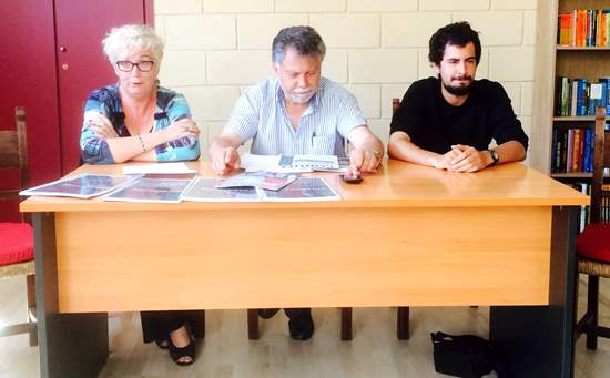 Rosa Serrano, Joan Salmerón i Víctor Catalan