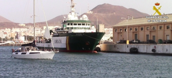 Embarcació de la Guardia Civil