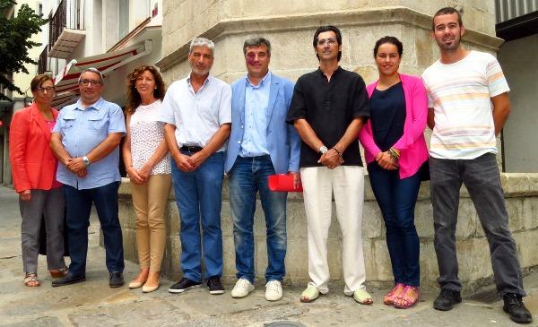 L'equip de govern de Blanes està format per regidors de PSC i CiU / Ajuntament de Blanes