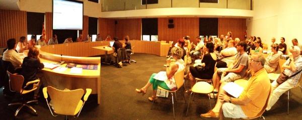 Foto d'arxiu d'una reunió del jurat popular