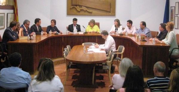 Constitució del nou Ajuntament de Tossa el passat 13 de juny
