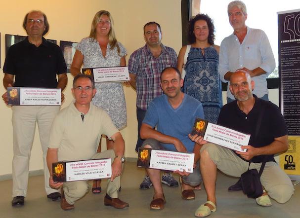 Foto de grup dels guanyadors / Ajuntament de Blanes