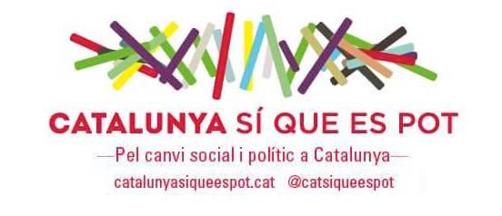 Logotipo de Catalunya Si Que Es Pot