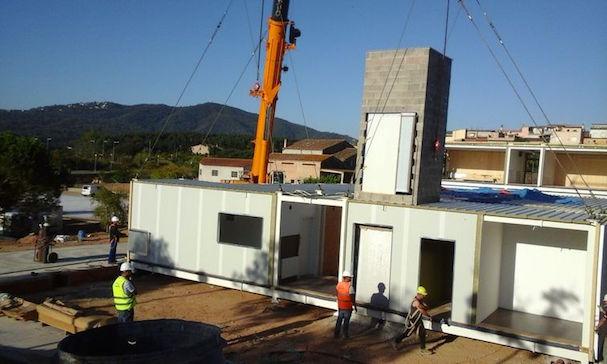 Construcció del nou institut / Ràdio Tordera