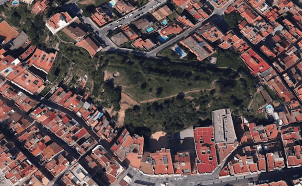 Finca Els Padrets / Google Earth