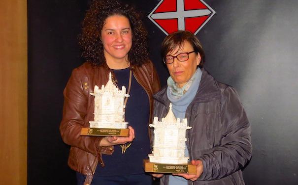 Meritxell Salarich i Susana Ramajo / Ajuntament de Blanes