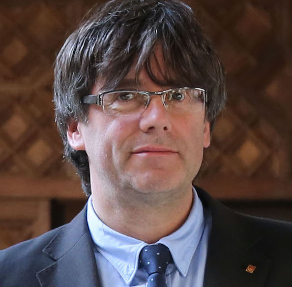 El president de la Generalitat Carles Puigdemont