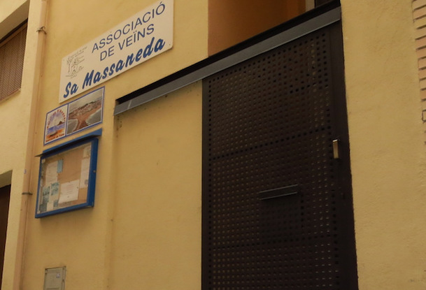 Façana del local de l'entitat / Ajuntament de Blanes