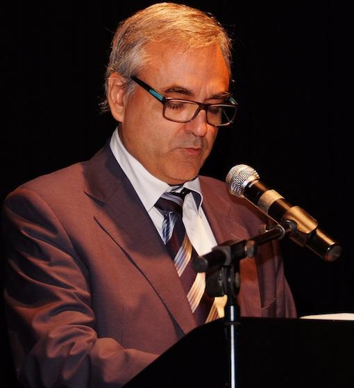 Vicens Llorca, president del jurat del Premis Recvll