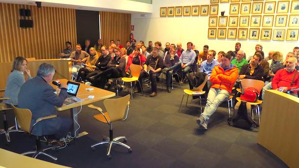 Imatge de la reunió / Ajuntament de Blanes