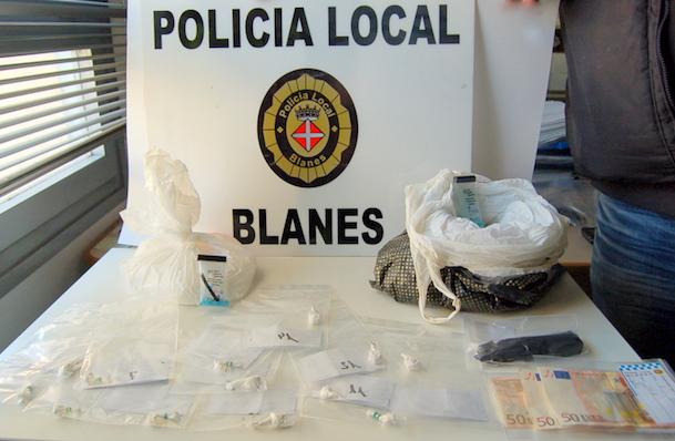 Material comisat per la Policia Local de Blanes / Ajuntament de Blanes