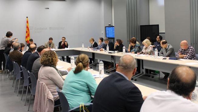Imatge de la reunió / Generalitat de Catalunya