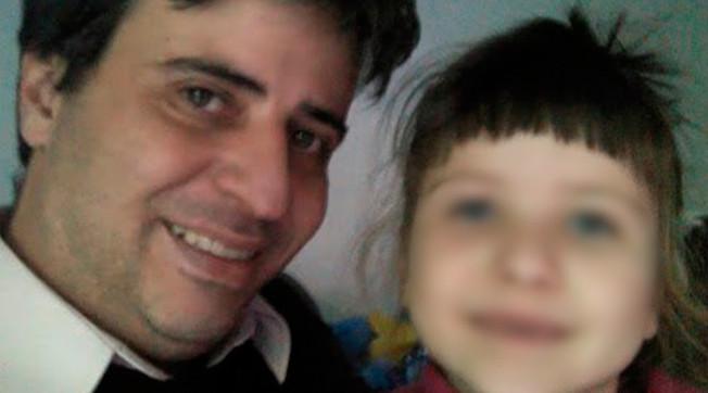 Carlos Salgado y su hija Catalina
