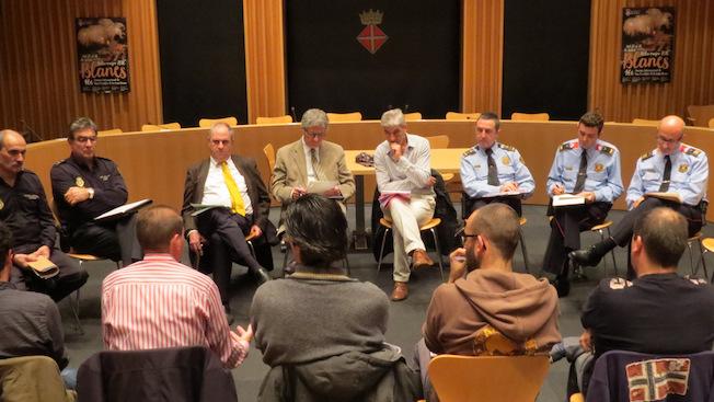 Ahi es va fe reunió extraordinària de la Junta de Seguretat Local