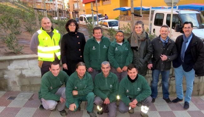 El barri mas enlaire de blanes estrena una nova zona for Jardineria navarro