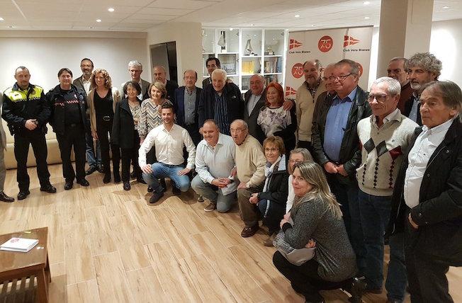 el club de vela blanes enceta els actes dels 75 anys